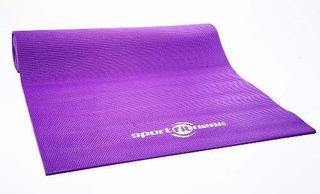 Colchoneta Yoga Morado, Pilates Ejercicio Gym Sportfitness