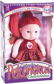 Boneca Pekenekas Cheirosinhas - Uvinha, Melancia Ou Morango