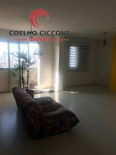 Imagem 1 de 15 de Apartamento Em Osvaldo Cruz - Sao Caetano Do Sul - V-3865