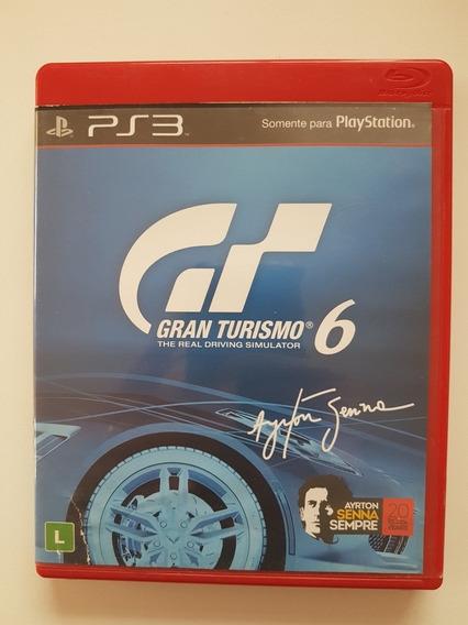 Gran Turismo 6 Mídia Física Original Para Playstation 3