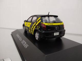Miniatura Gm Celta Detran Veículos De Serviços