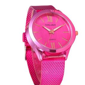 Relógio Feminino Rosa - Quartzo