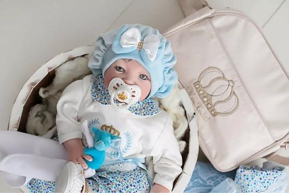Boina Recém Nascido Bebê Gorro Plush Veste Até 4 Meses