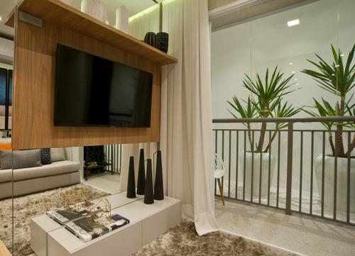 Imagem 1 de 19 de Apartamento Com 2 Quartos, 37m2, À Venda - Cambuci - São Paulo - 011
