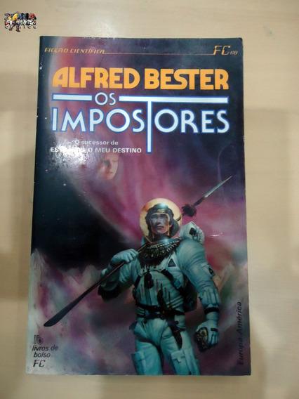 Os Impostores Alfred Bester Livro Ficção Científica Ótimo