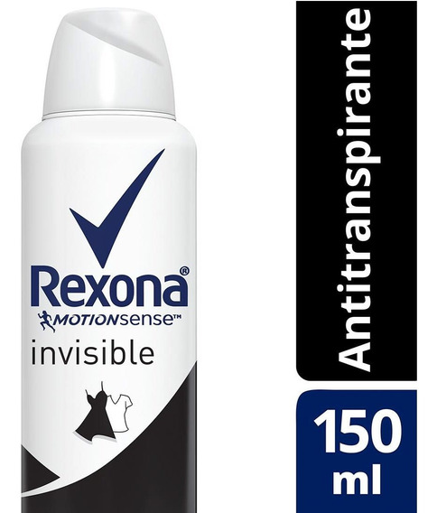 Antitranspirante Aerosol Invisible Rexona Motionsense 150ml