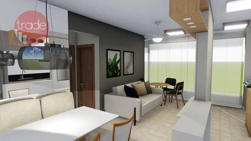Imagem 1 de 13 de Apartamento Com 2 Dormitórios À Venda, 58 M² Por R$ 325.000,00 - Jardim Paulista - Ribeirão Preto/sp - Ap6956