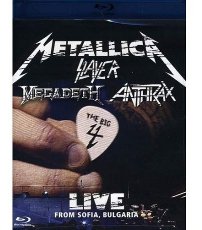 Blu-ray The Big 4 Live / Metallica Megadeth Slayer Anthrax