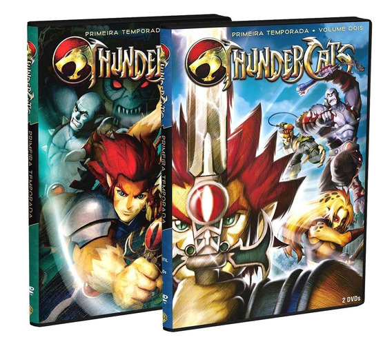 Thundercats Vol Um & Dois (4 Dvds) Lacrado Frete Gratis