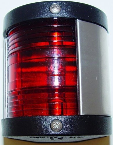 Aqua Puerto De Señal Luz De Navación (rojo)