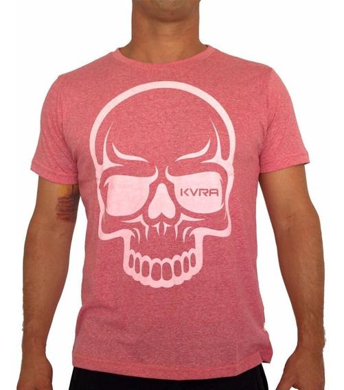 Camiseta Mma Kvra Full Skull - Rosa