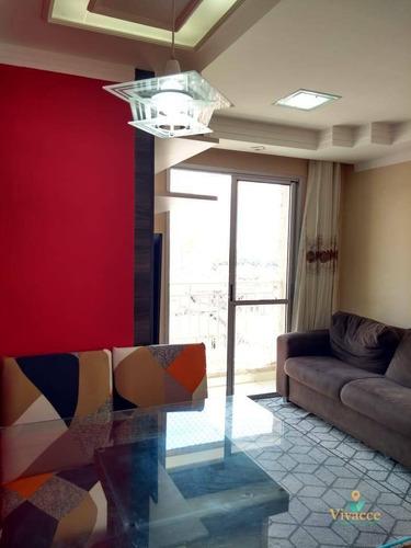 Imagem 1 de 30 de Lindo Apartamento De 2 Dormitórios, 1 Vaga - Ap0001