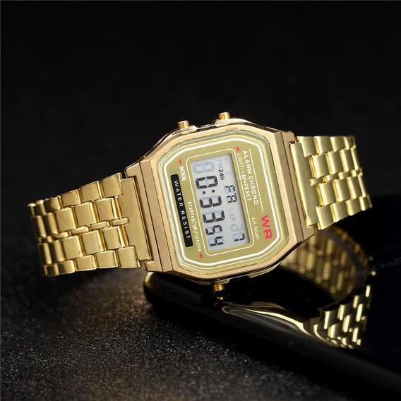 Relógio Casio Vintage Feminino Ouro Brinde + Garantia