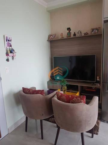 Studio Com 1 Dormitório À Venda, 38 M² Por R$ 285.000 - Vila Augusta - Guarulhos/sp - St0043