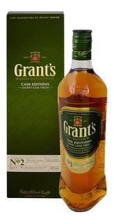 Estuche Whisky Grants Sherry Cask Finish 40% X750cc