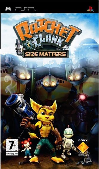 Ratchet Clank Size Matters Psp