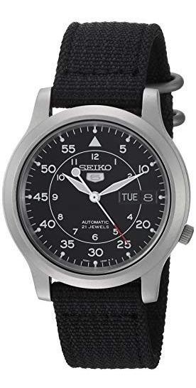 Seiko, Reloj Para Hombre Snk809, Acero Inoxidable, Correa N