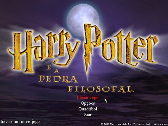 Harry Potter E A Pedra Filosofal Dubl E Leg Em Português Pc