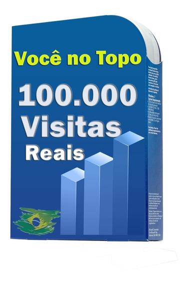 100.000 Visitas Para Sites, Blog, Loja Virtuais,