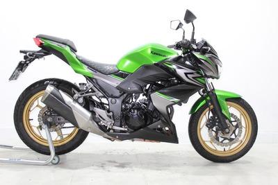 Kawasaki Z 300 Abs 2018 Verde - Pneus Novos!!!