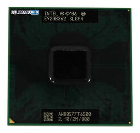 Proc Intel Core 2 Duo T6500 (2m Cache, 2.2ghz) (11259)