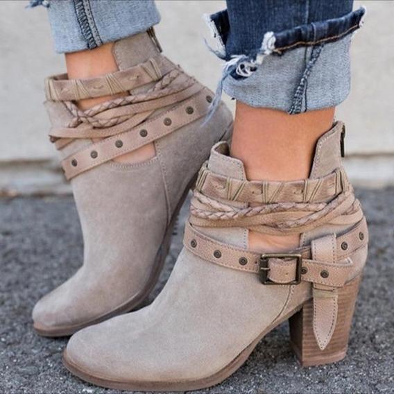 Ankle Boot Feminina Hee Grand 68842 Importado