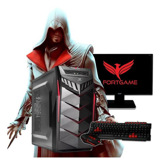 Pc Gamer Completo Ssd 240gb 4gb Nvidia Gt 730 2gb + Frete