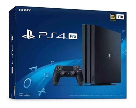 Playstation 4 Pro - Nuevo De Paquete