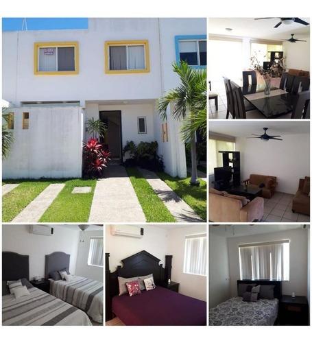 Casa En Renta En Rincón Del Cielo Condominio Santa Barbara
