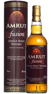 Whisky Single Malt Hindú Amrut Fusion 50%abv Origen India.