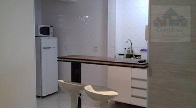 Kitnet Com 1 Dormitório Para Alugar, 34 M² Por R$ 1.680/mês - José Menino - Santos/sp - Kn0467