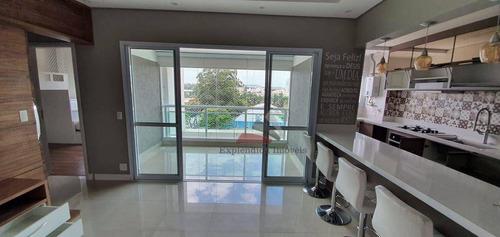 Apartamento Com 2 Dormitórios À Venda, 70 M² Por R$ 580.000,00 - Vila Mogilar - Mogi Das Cruzes/sp - Ap0336