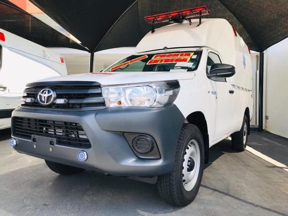 Toyota Hilux Ambulancia 2.8 Tdi Cab. Simples Chassis 4x4 2p
