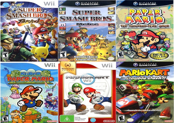 Jogos Nintendo Wii Ou Gamecube, 20 Títulos A Escolha