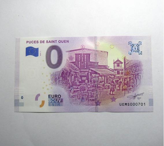 Francia Año 2019 Billete De 0 Euros Unc