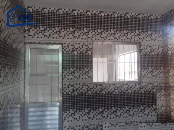 Casa Com 2 Dormitórios Para Alugar, 70 M² Por R$ 700/mês - Recanto Primavera - Arujá/sp - Ca0242