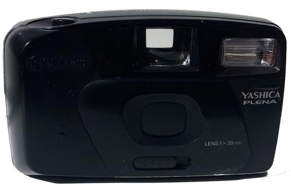 Câmera Fotográfica Analógica Yashica Plena Kyocera Lens F 28