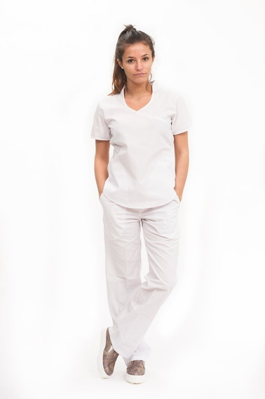 Jazmín Poly Blanco - Ambo De Diseño Mujer Oh! Wear