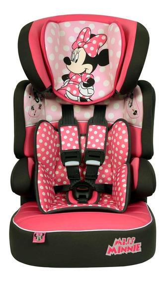 Cadeira De Auto Disney Beline Minnie Mouse Dots Cadeirinha