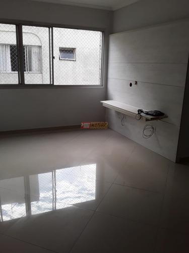 Apartamento No Bairro Nova Petropolis Em Sao Bernardo Do Campo Com 02 Dormitorios - V-30895