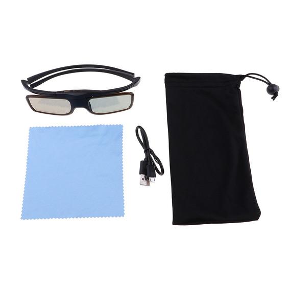 Óculos 3d Active Persiana Recarregável Para Dlp - Link 3d