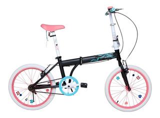 Bicicleta Plegable Bia 7153 Rodado 20 Original Disney Cuota