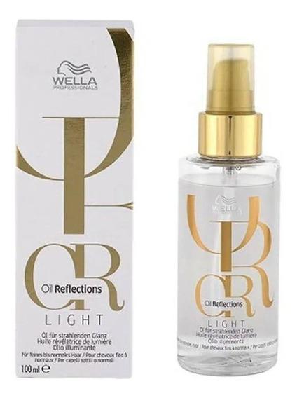 Óleo Wella Oil Reflections Light Luminous 100ml + Brinde