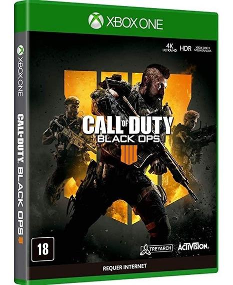 Jogo Call Of Duty Black Ops 4 Xbox One Mídia Física Lacrado