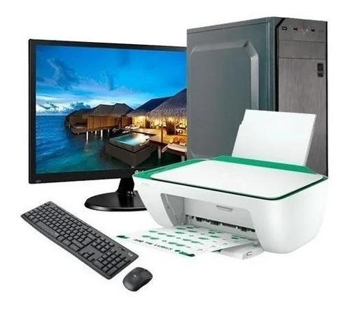 Computadora Intel Core I3 8gb Ssd240gb Monitor + Impresora