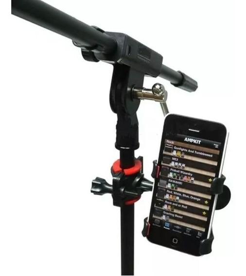 Suporte Celular Smartfone P/ Pedestal De Microfone Cifras