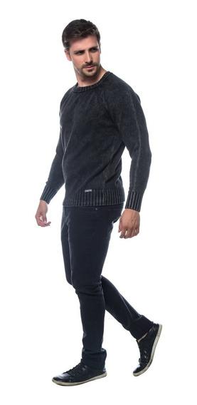 Blusa Tricot Suéter Gola Careca 100% Algodão Ref. 29