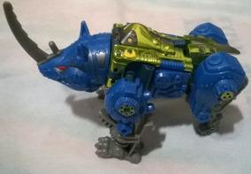 Transformers Beastwars Transmetals 2 Rhinox+optimus Minor