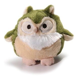 Encantador 61208 Howling Hoots Green Squeak Toys
