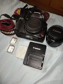 Camera Canon T1i Com Lente 50mm E Acessórios. Semi-nova